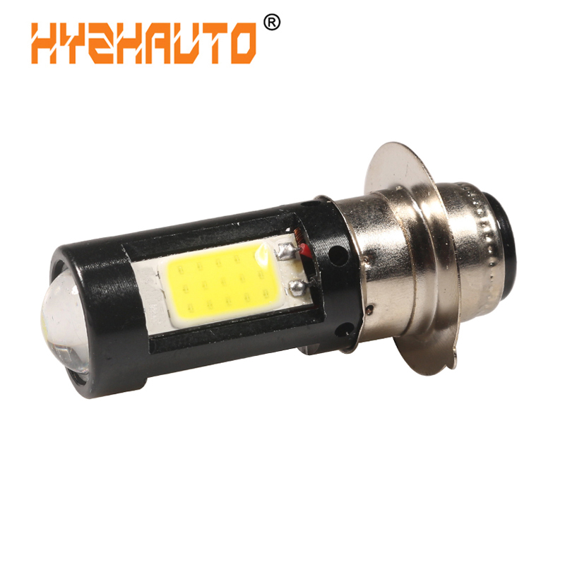 HYZHAUTO 1 шт. H6M PX15D мотоциклетная лампа P15D светодиодная мотоциклетная фара ближнего и дальнего света мотоциклетный Скутер ATV фасветильник прот...