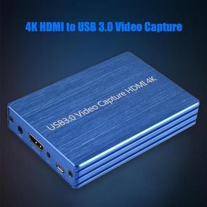 Image 3 - ALLOYSEED 4K HDMI to USB 3.0 HDMI 비디오 캡처 카드 Dongle 1080P 60FPS HD 비디오 레코더 게임 스트리밍 라이브 스트림 방송