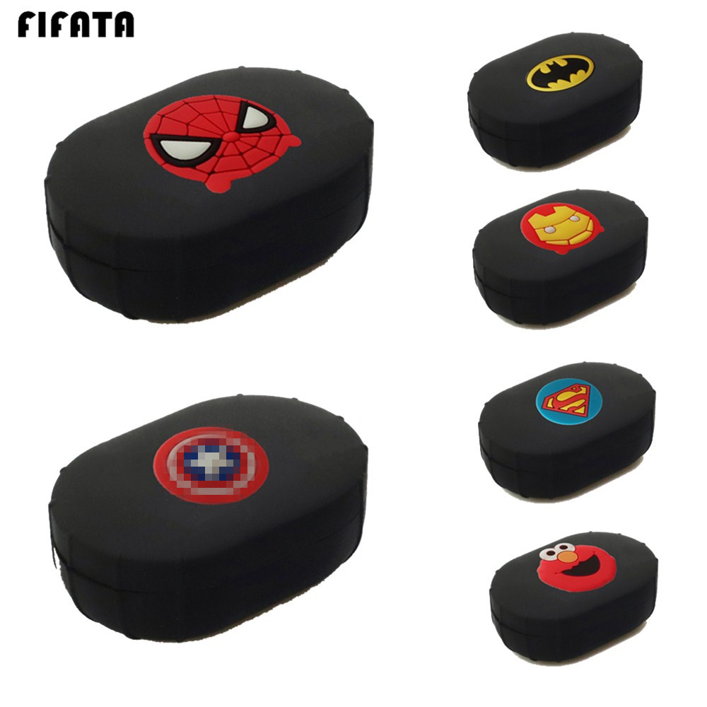 FIFATA For Xiaomi Airdots Case Silicone Cover For Xiaomi Redmi Airdots Youth Version Earphone TPU Protective Shell Accessories