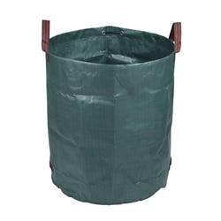 120L/272L/300L/500L Large Garden Bag  Heavy Duty Leaf Bag Reusable Waste Bag