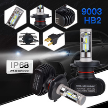 Bevinsee LED Headlight Bulbs Head Light Lamp For Honda Shadow VLX /Deluxe 2004-2009 ST1300 ST 1300 2003-2009 High Low Beam