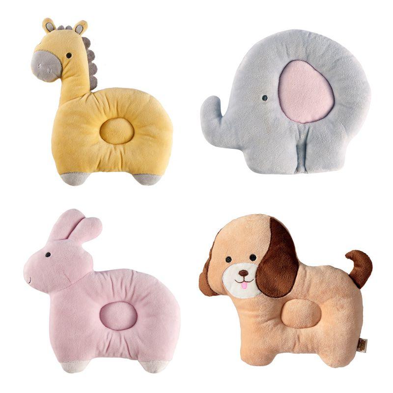Newborn Pillow Soft Cute Positioner Prevent Flat Head Infant Head Shaping Pillow
