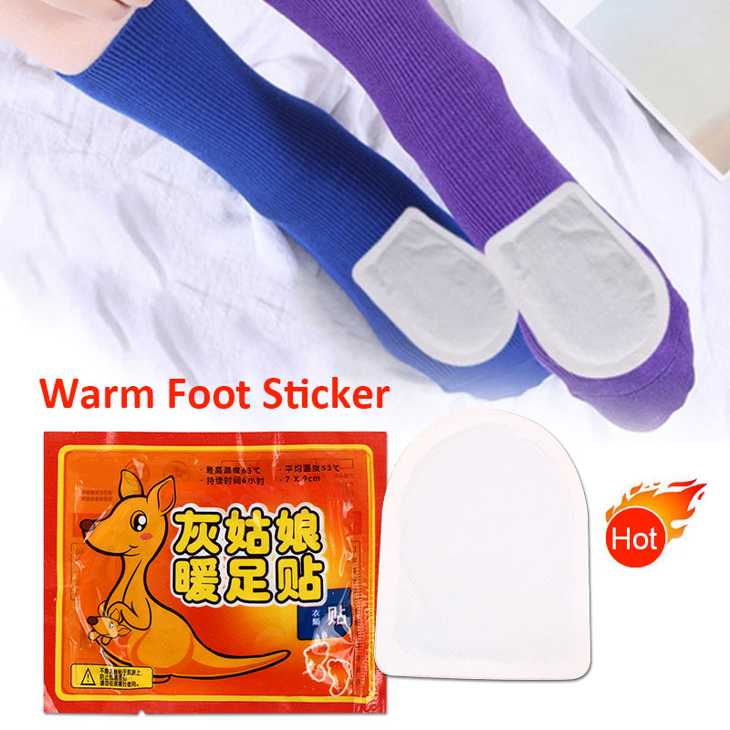 Lasting Warmer Sticker Hand Body Activated Carbon Durable Warm Foot Pad Leg Feet Arm Winter Skin