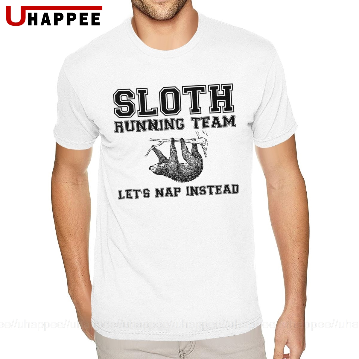 Sloth Running Team Tee Young Boy Fashion Designer Tee For Men Short Sleeve Discount Brand Clothing T Shirts Aliexpress