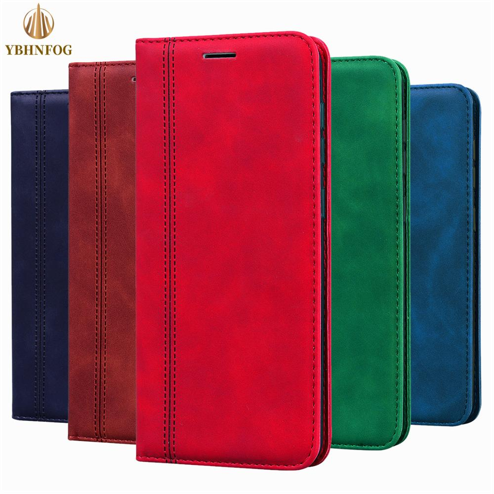 Magnetic business Leather Wallet Case For OPPO A1K AX5S A11X A3 A5 A9 2020 Realme 3 5 6 Pro Reno 3 2Z Flip Card Stand Bag Cover(China)