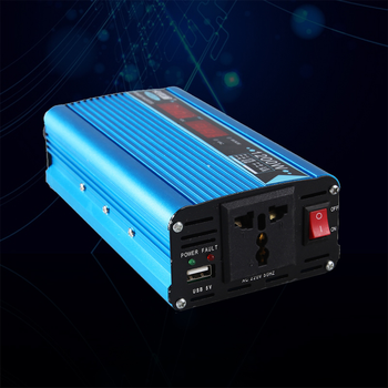 Gute modifizierte sinus welle inverter 12V 220V peak power 1200W sustain powe 600W solar power inverter DC 12V /24V zu AC220V /230V image