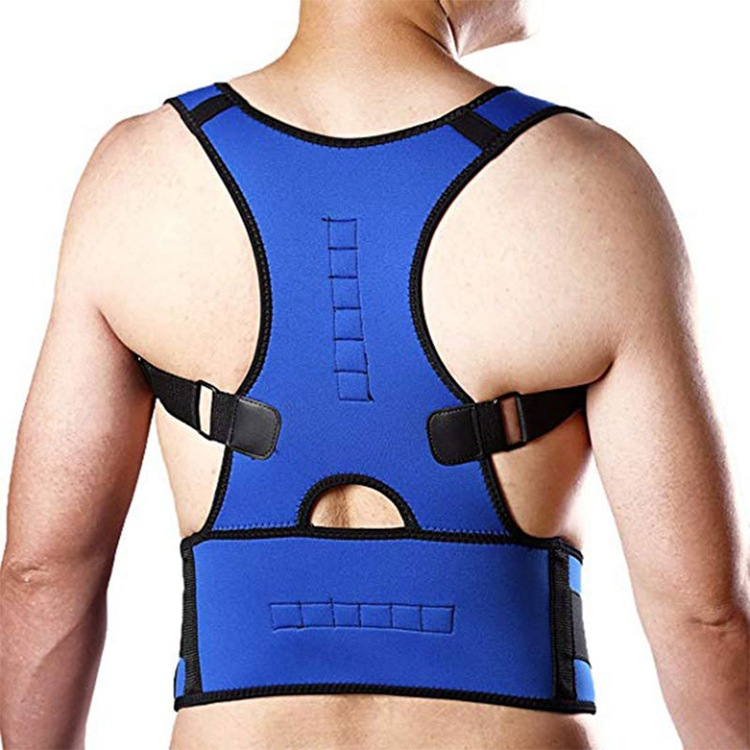 Adult Sitting  Kyphotone Strengthen Support Magnet Brace Correct Posture Brace