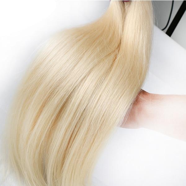 613 Bundel Braziliaanse Menselijk Haar Bundels Weave Remy Haar 30 Inch Lang Haar Bundels Rechte Blonde Bundels