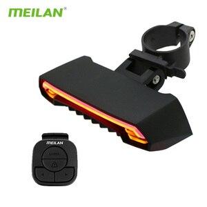 Meilan x5 USB Bike Light Led T
