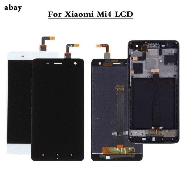 100% Test NEUE Für Xiao mi mi 4 mi 4 Glas Ersatz LCD Touch Screen Digitizer Montage 5,0 zoll für Xiao mi mi 4 LCD