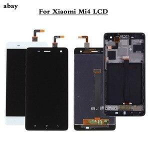 Image 1 - 100% Test yeni Xiao mi mi 4 mi 4 cam değiştirme LCD dokunmatik ekranlı sayısallaştırıcı grup 5.0 inç Xiao mi mi 4 LCD