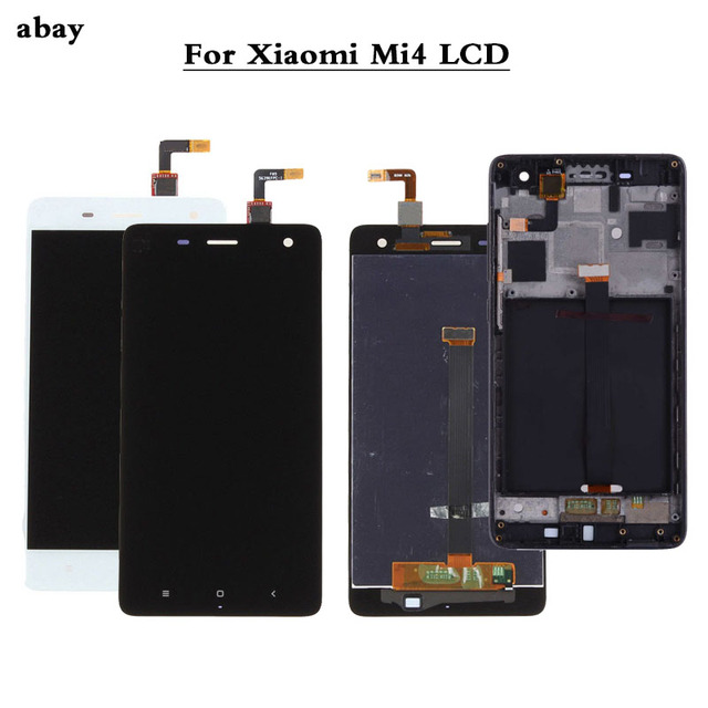 100% Test yeni Xiao mi mi 4 mi 4 cam değiştirme LCD dokunmatik ekranlı sayısallaştırıcı grup 5.0 inç Xiao mi mi 4 LCD