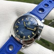 STEELDIVE1938 noctiitech الغوص استعادة الطرق القديمة هو التلقائي ساعة ميكانيكية الفولاذ المقاوم للصدأ الرياضة الرجال ساعة 200 متر أد