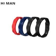 4 Colors Simple Environmental Protection Anion Silicone Bracelet Men  Women Fashion Basketball Sports Wristband Couple Bracelets