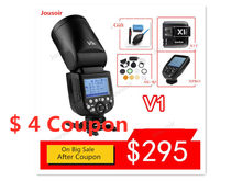 GODOX V1 Flash V1C V1N V1S V1F V1O TTL 1/8000 S HSS Baterai Lithium Speedlite Flash untuk C N S O CD50 T03 Y(China)