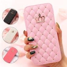 Brieftasche Flip Telefon Fall für IPhone 11 Pro Max X Xr Xs Mädchen Nette Leder Abdeckung für Iphone 8 Plus 7 6S 6 5 5S SE2 12 Pro Max Mini