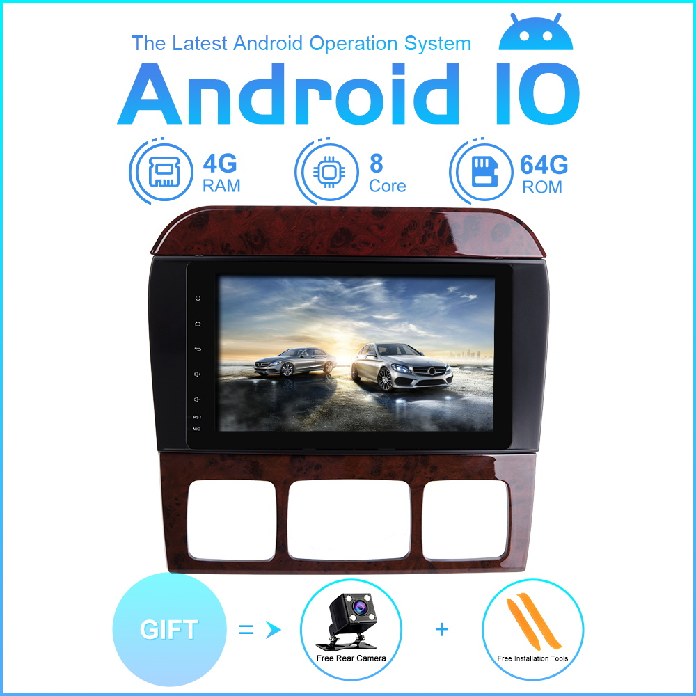 ZLTOOPAI Eight Core Car Multimedia Player <font><b>GPS</b></font> <font><b>For</b></font> <font><b>Mercedes</b></font> Benz S-Class W220 W215 S280 S320 S350 <font><b>S500</b></font> Automotivo Navigator Audio image