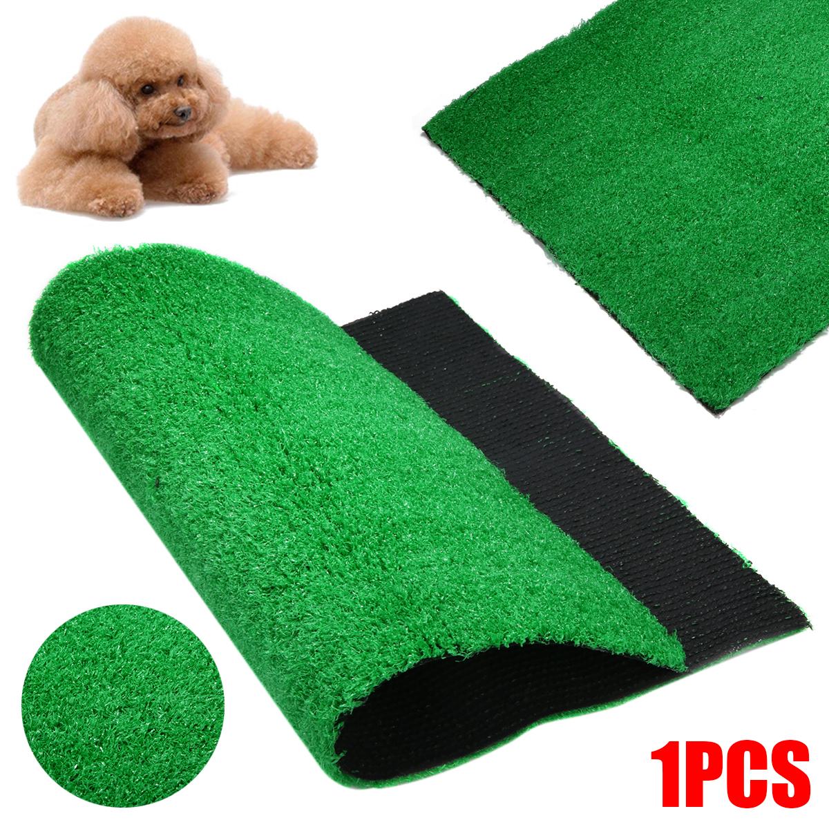 Toilet Dog Grass Pad Pee Mat Patch Simulation Training Green Artificial Turf Pet Puppy Potty Trainer Indoor Training