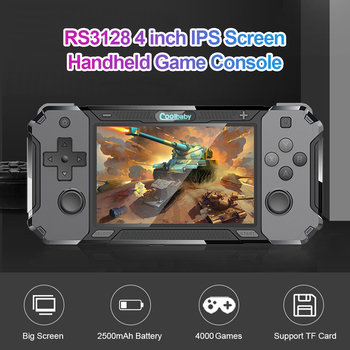 RS3128 klasyczne gry Mini Retro konsola Retro 4 0 cala IPS akumulator przenośny kieszonkowy przenośna konsola do gier tanie i dobre opinie ALLOYSEED NONE CN (pochodzenie) Game Console Handheld Game Players Accessories