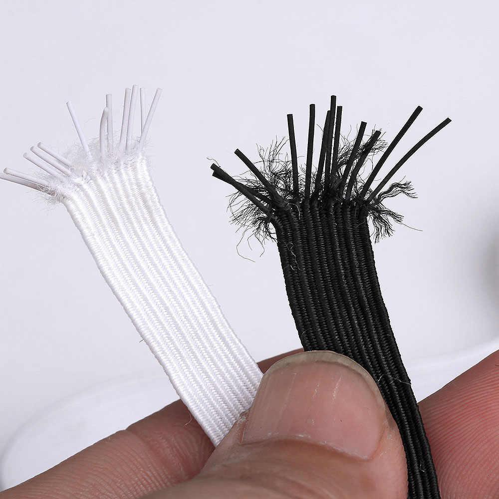 5/10M 3/6/8/10/12mm DIY bandas elásticas para costura, banda elástica multifunción para máscara de ropa interior 5z