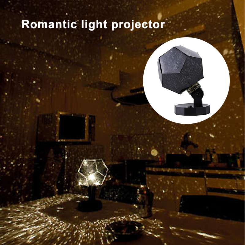 LED Romantic Planetarium Star Celestial Projector Night Sky Lamp Home Decor Celestial Star Sky Cosmos Night Light Bedroom Home