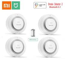 Xiaomi Smoke Detector Honeywell Sensor Fire Alarm Audible&Visual Alarm Work With Gateway 2 Smart Home Remote APP Control