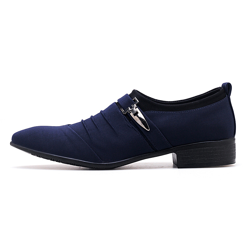 2019 Autumn Men 39 s Business Black Blue Casual Shoes Comfortable Men 39 s Loafers Size 39 48 in Men 39 s Casual Shoes from Shoes