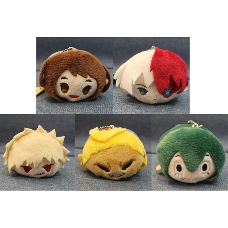 2019 New Anime My Hero Academia Plush Doll Pendant Toy Soft Stuffed Dolls Gift 9CM