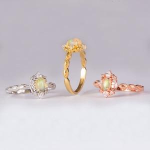 Image 5 - Kuololit Doğal Opal Taş Yüzük Kadınlar için 925 Ayar Gümüş Yüzük Düğün El Yapımı Nişan Bant Parçası Hediye Güzel Takı