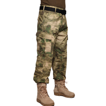 Army Outdoor Camouflage Trousers Clothes  Military Autumn and winter Men's pants Uniform Camping Hiking Military Men Pants