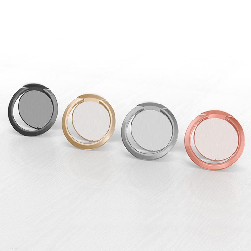 Держатель для телефона мобильный телефон кронштейн ультра-тонкий 360-диск вращающийся металлический мобильный телефон кольцо Пряжка Кроншт...