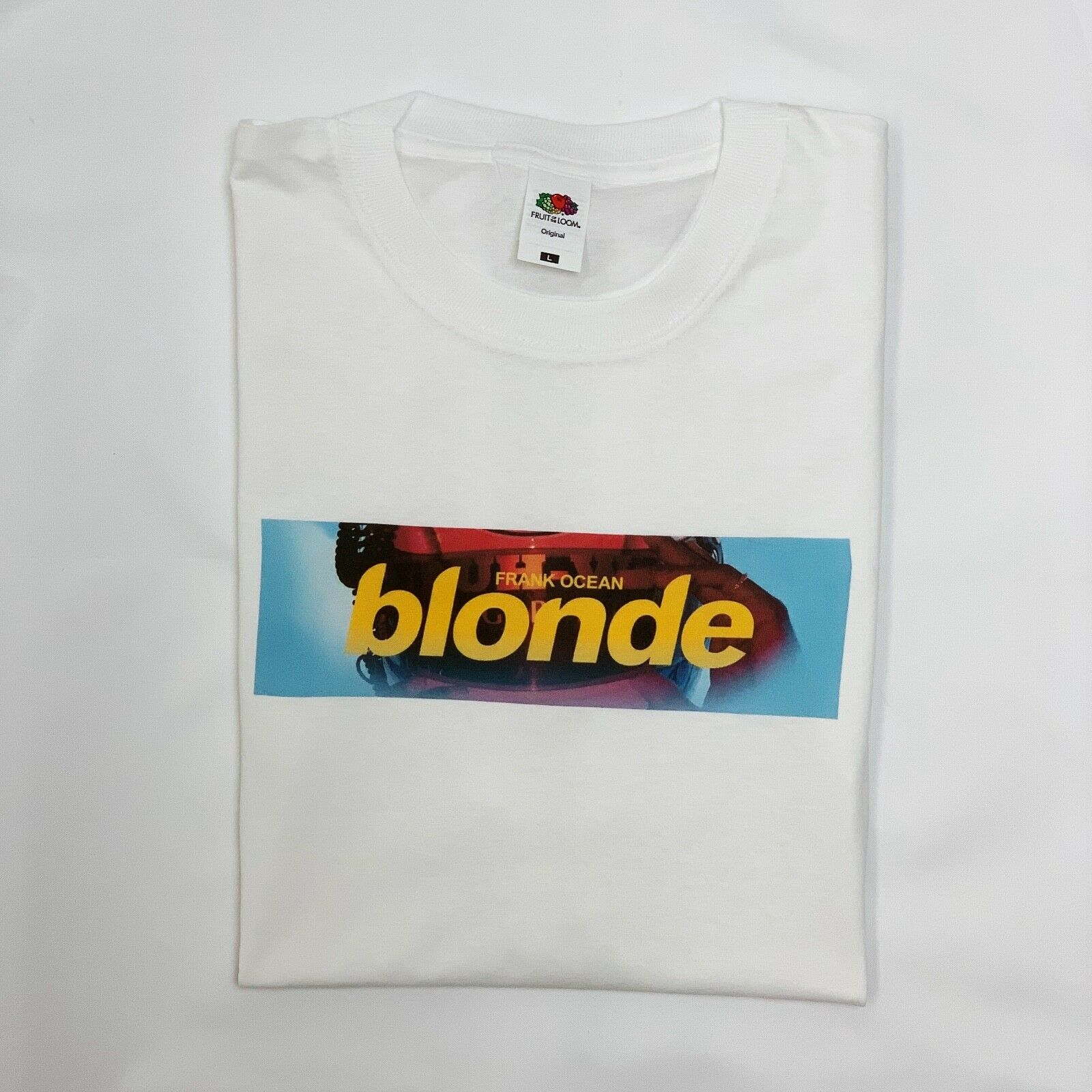 Blond Vintage T-shirt Frank Orange Ocean Tee Boys Cry Flex Channel Lens Top