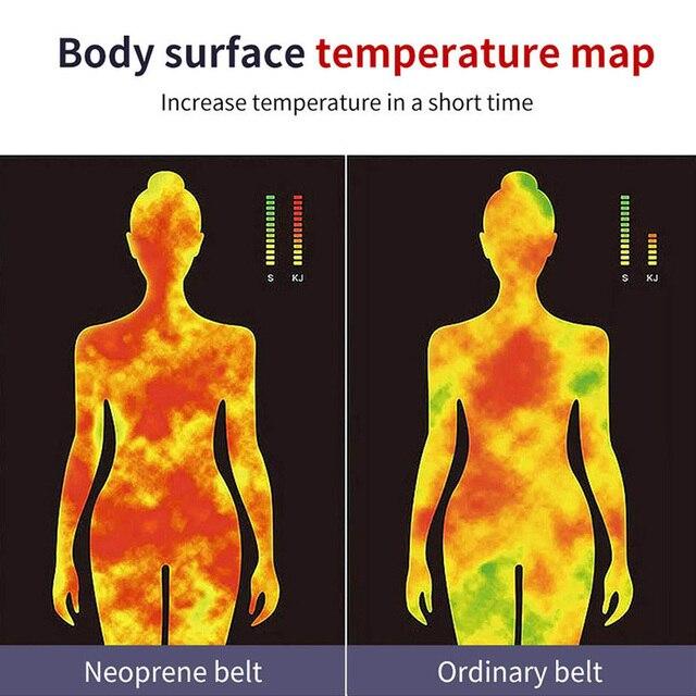 Sweat Belt Slimming Pants Yoga Belly Belt Fitness Running Leggings Sweating Sweat Fever Shaping Lose Weight Pants Leg Sheath 2