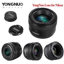 Объектив YONGNUO YN35mm F2.0 F2N YN50mm F1.8 F1.4 AF/MF Focus, объектив для Nikon F Mount D3200 D3300 D3100 D5100 D90 DSLR камеры