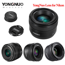 YONGNUO YN35mm F2.0 F2N עדשת YN50mm F1.8 F1.4 AF/MF פוקוס עדשה עבור ניקון F הר D3200 D3300 D3100 d5100 D90 DSLR מצלמה