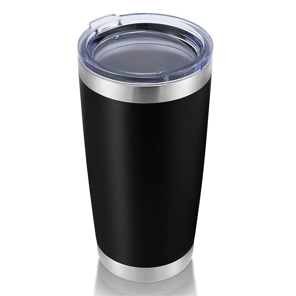 <font><b>20oz</b></font> Wine Tumbler <font><b>Mug</b></font> Coffee Cup With Seal Lids Stainless Steel Vacuum Insulated Travel Milk Coffee Thermo Cup For Gifts image