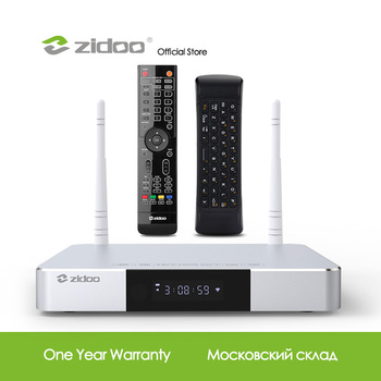 Zidoo Z9S Media Player 4K Smart TV Box Android 7.1 NAS System 2GB DDR 16GB eMMC Set Top Box HDR Android Top Box HDR 10Bit TVbox