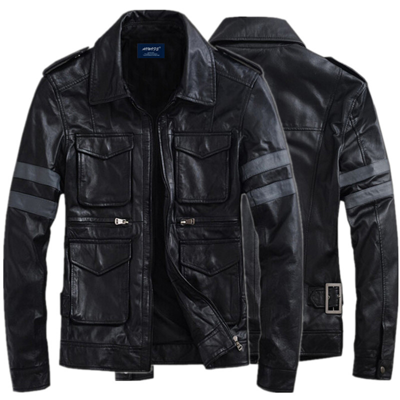 Jacket Coat Motorcycle Gentlemen Outerwear for Game Leon-Design S. Hot-Sale Cavalier title=
