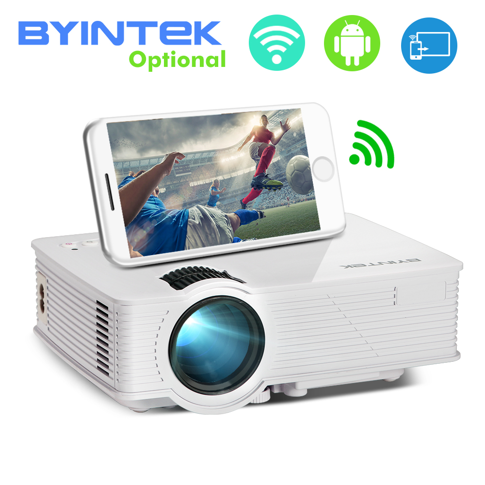BYINTEK SKY BT140/BT140plus/BT140android Mini LED Projector HD Home Theater (Optional: Wireless display for Iphone Smartphone) Проектор