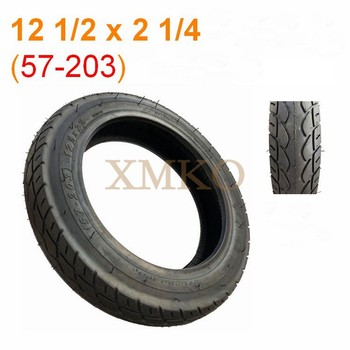 Update 12 1 2 X 2 1 4 ( 57-203 ) Vacuum Tire For Electric Scooter E-Bike Gas Scooter tanie i dobre opinie XMKO 36 v Koła