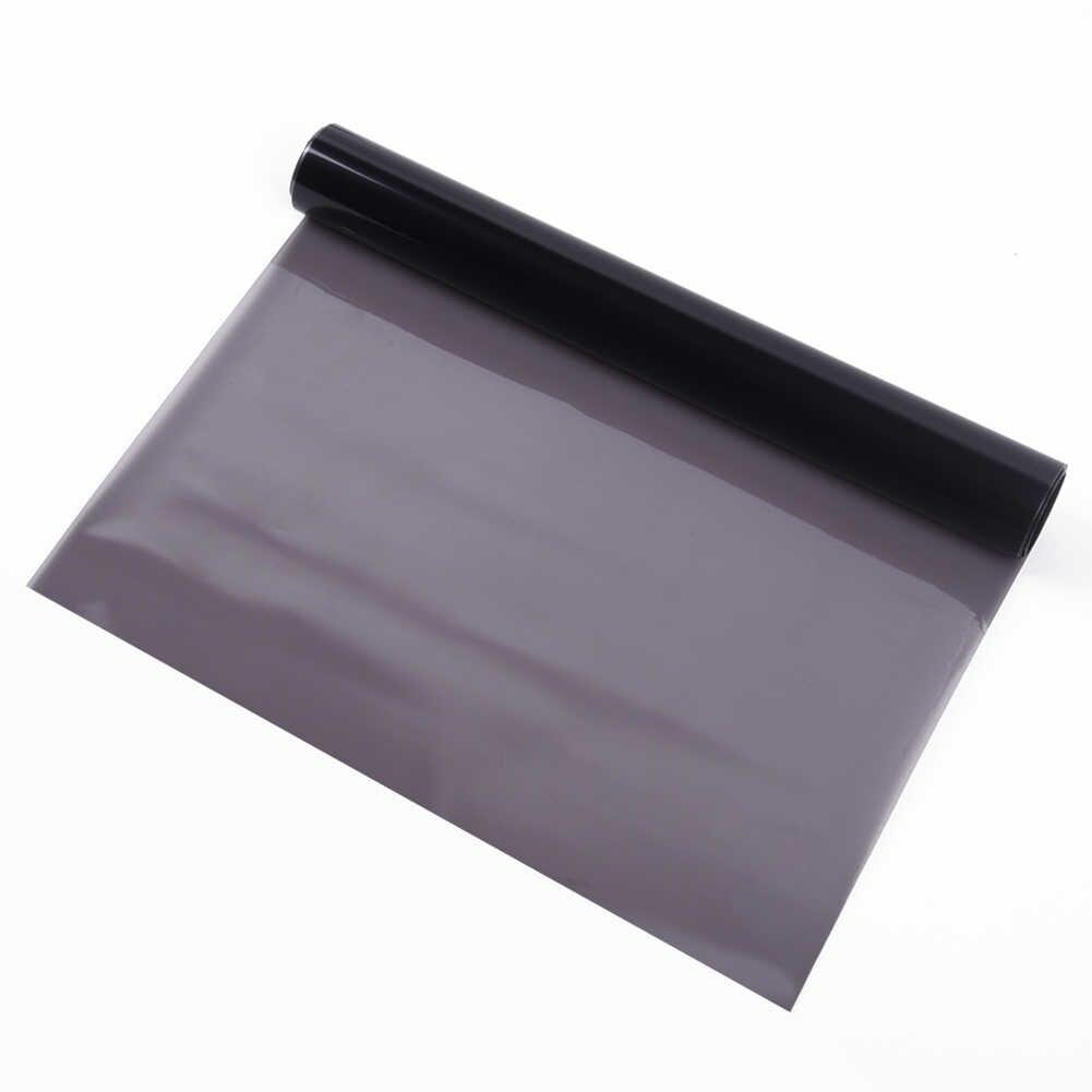 Черные Автомобильные фары задние лампы Тонирующая пленка 30x150 см Виниловая наклейка лист обертывание наклейки наружные детали украшения