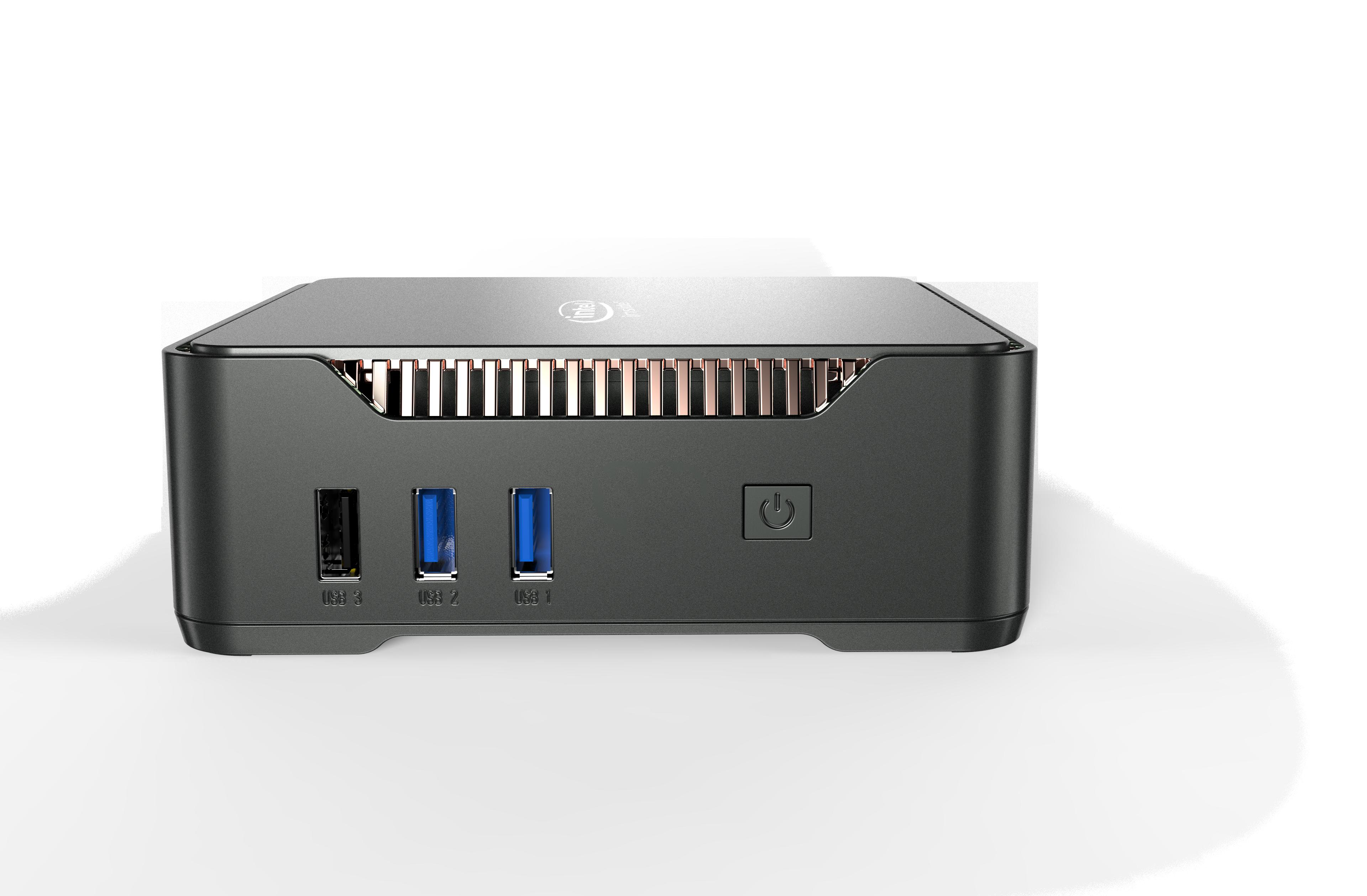 GK3V Mini PC Intel celeron J4125 Quad core 8GB RAM 3
