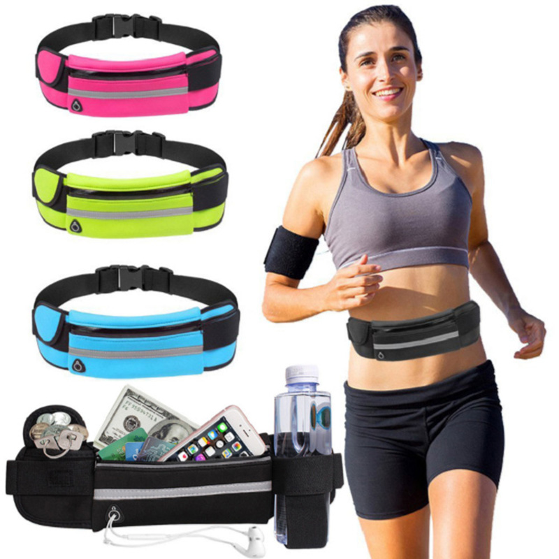 Waist Bags Belt Waist Bag Running Waist Bag Sport Running Bag Cycling Phone Bag Waterproof Holder Women Running Belt Waist