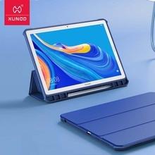 Huawei社mediapad M6 10.8 / 8.4 タブレット чехол xundd抗シリコーンゴムハードインパクト完全な保護スマート睡眠フリップタブレットスリーブ鉛筆ホルダー