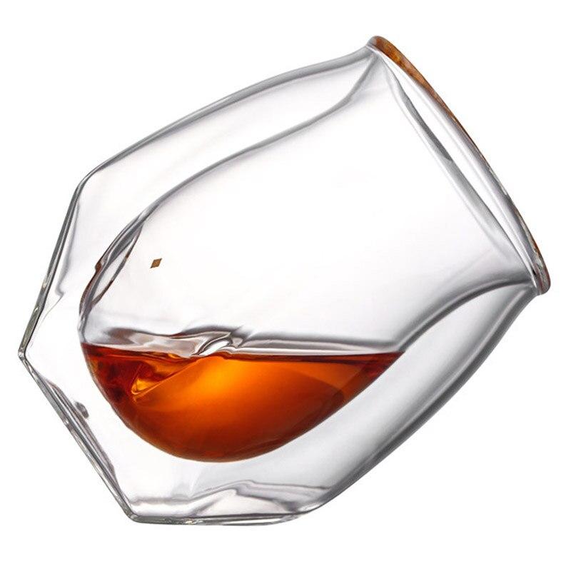 Комплект из 2 предметов с двойными стенками, бокал для вина, прочная термостойкая чашка для вина, костюм для домашнего офиса, бара FP8