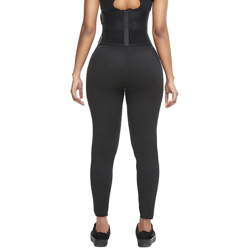 Slim Pants Tummy Control Panties Neoprene Weight Loss Workout Waist trainer Butt Lifter Tight Capris Body Shaper