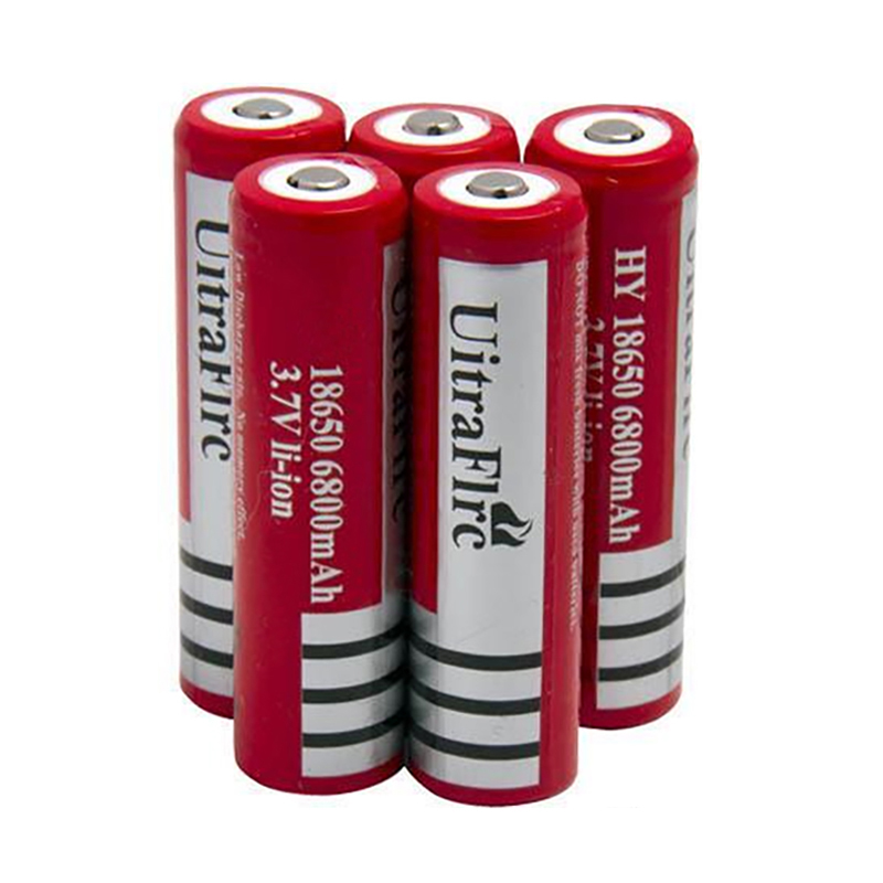New <font><b>18650</b></font> Rechargeable battery 3.7V 6800mAh <font><b>NCR18650B</b></font> Li-ion batteries for flashlight Torch Free shipping image