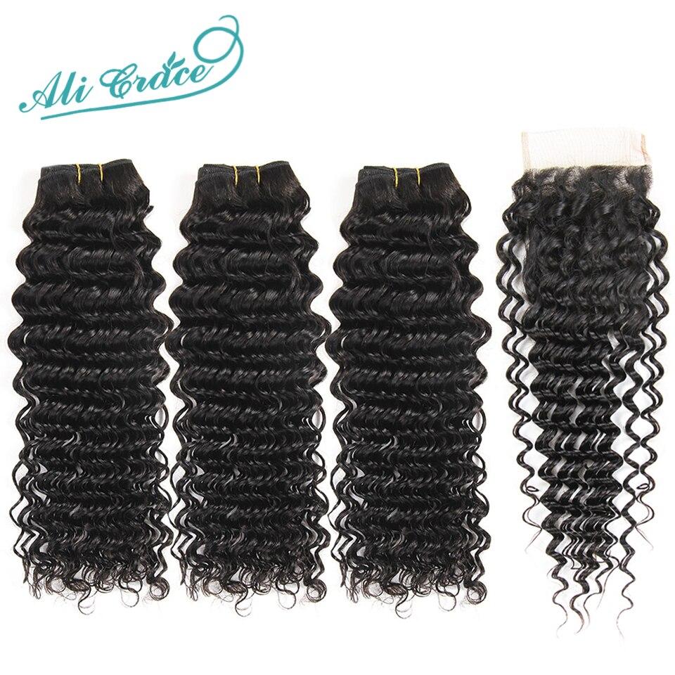 Ali-Grace-Brazilian-Deep-Wave-Bundles-With-Closure-3-Bundles-Human-Hair-Deep-Wave-with-HD