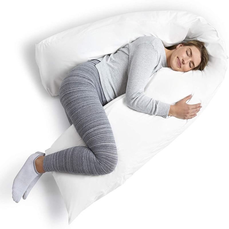 Комфортная внутренняя подушка для тела дакимакура 160x50 см, украшение для дома, белая длинная подушка-колонна, подушка против насекомых