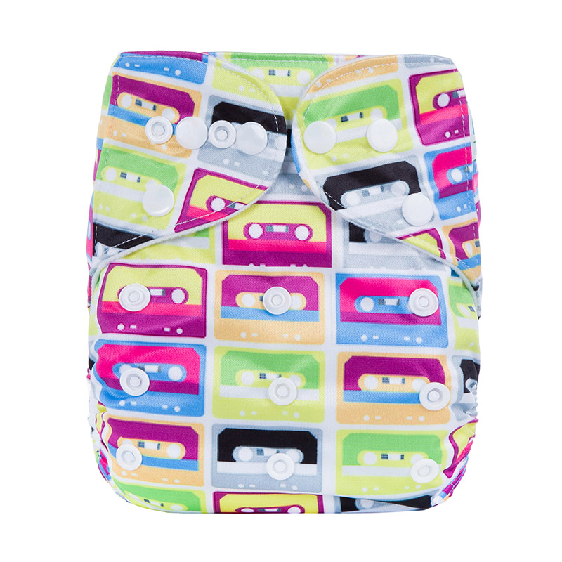 Waterproof Baby Cloth Nappies All In One Reusable Cloth Diaper Diaper Covers Cloth Diapers S6